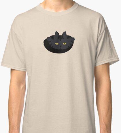 Black Tabby Cat Cattern [Cat Pattern] Classic T-Shirt