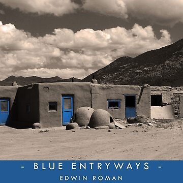Blue Entryways by EdwinRomanArt