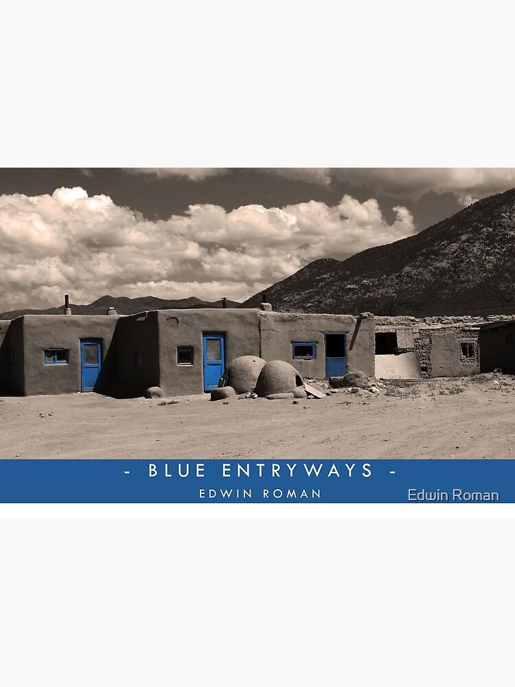 Blue Entryways by EdwinRomanArt