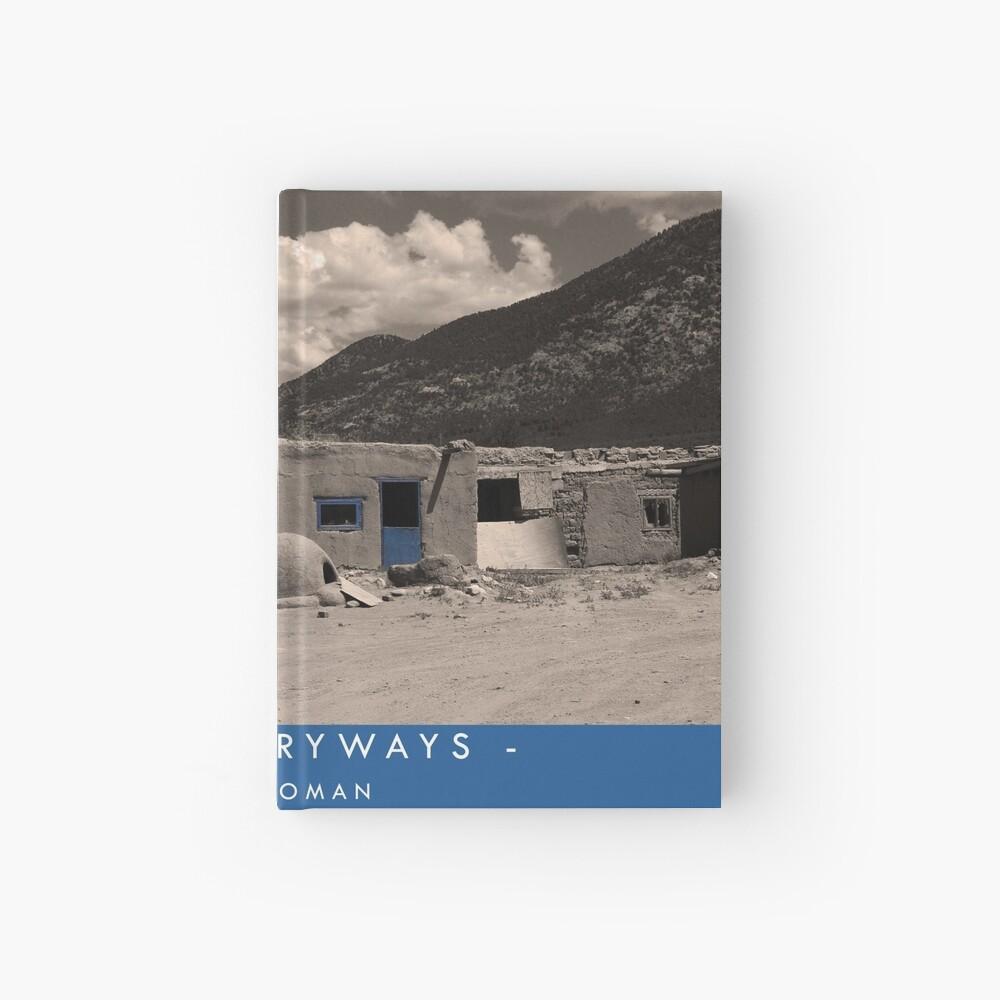 Blue Entryways Hardcover Journal