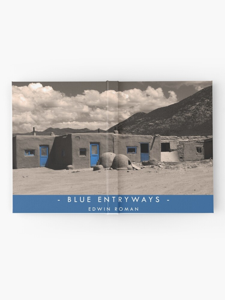 Alternate view of Blue Entryways Hardcover Journal