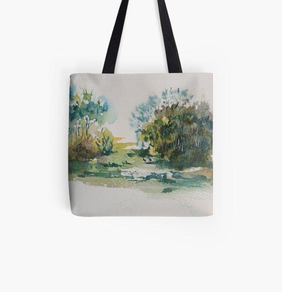 Wetlands All Over Print Tote Bag