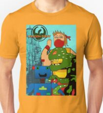 Video Game Characters Dragon Fight T-Shirt