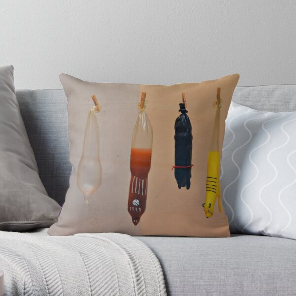 The Condomerie, Amsterdam Throw Pillow