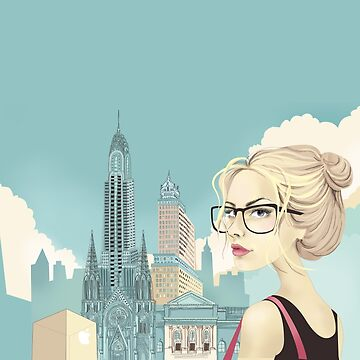 Girl in New York by solarlullaby
