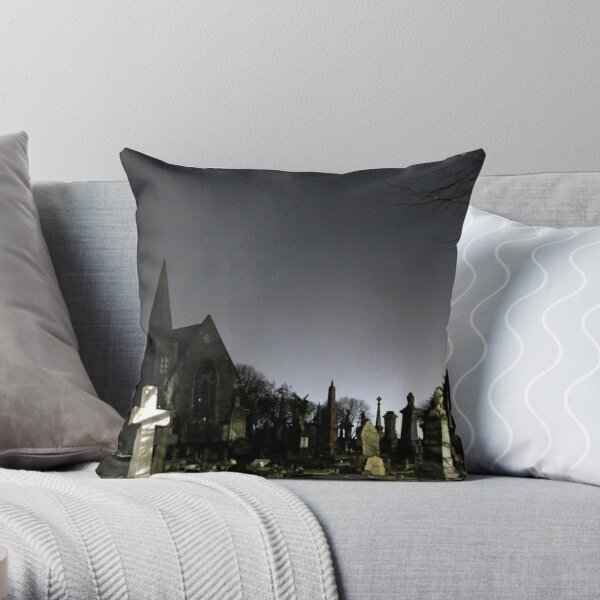 Avonview Cemetery Throw Pillow