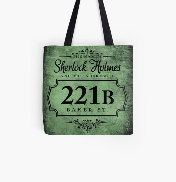 The name's Sherlock Holmes All Over Print Tote Bag