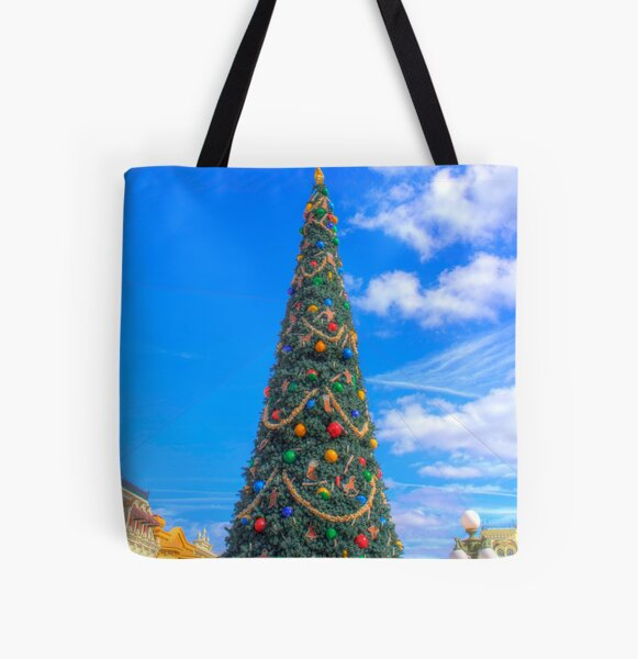 Merry Main Street All Over Print Tote Bag