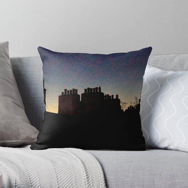 Chimney Pots, Dusk. Edinburgh. Throw Pillow