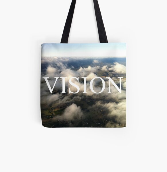vision All Over Print Tote Bag