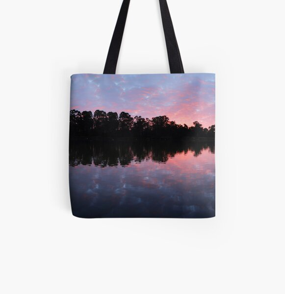 Murray River Sunrise.   All Over Print Tote Bag