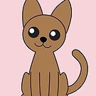 Brown Cat by mstiv