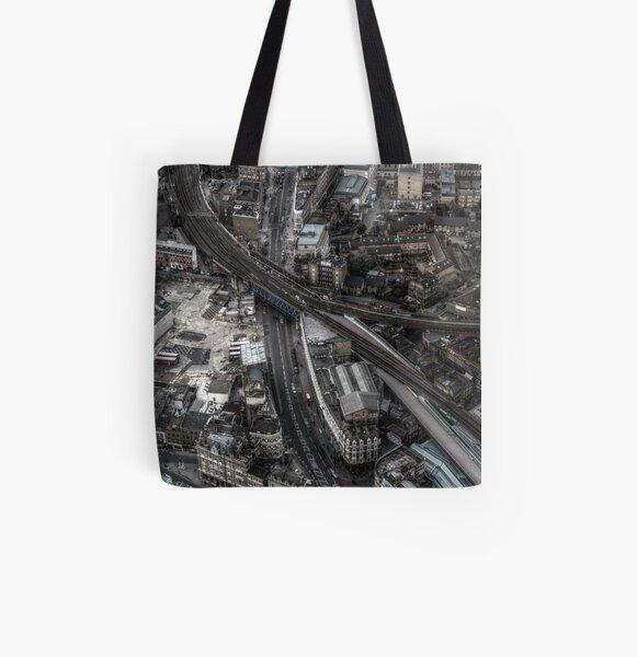 Borough Market, London All Over Print Tote Bag