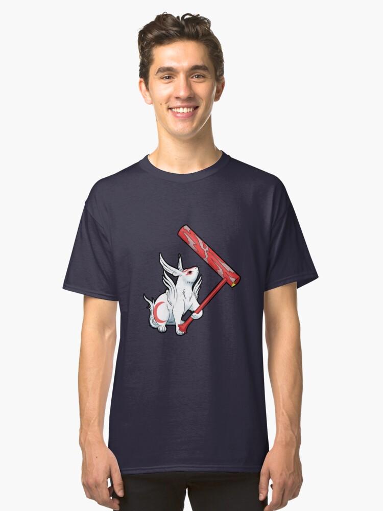 Yumigami - Okami Classic T-Shirt Front