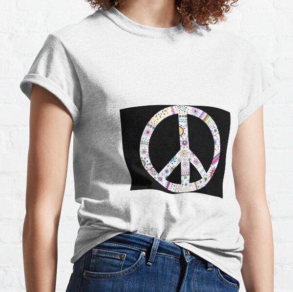 Colorful peace Classic T-Shirt