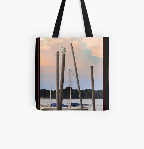 Determination All Over Print Tote Bag