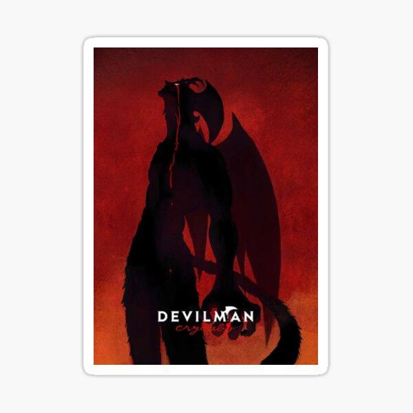 Devilman Crybaby Sticker