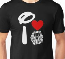 I Heart The Lion King (Inverted) Unisex T-Shirt