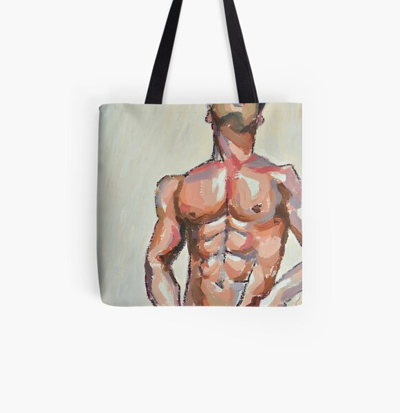 Touched All Over Print Tote Bag