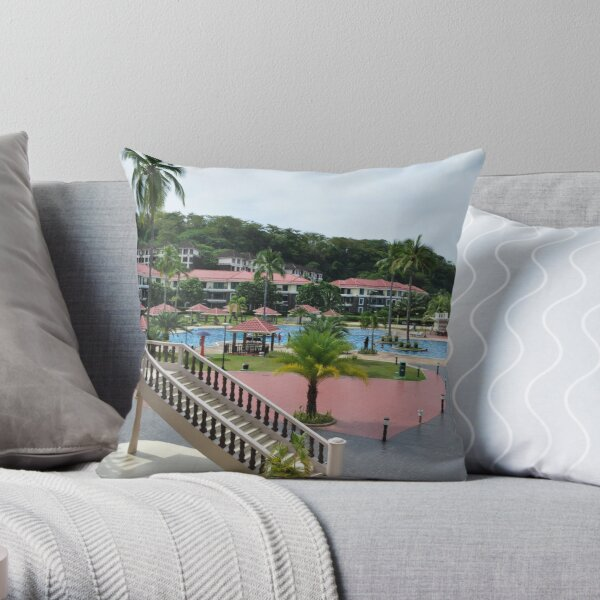 Canyon Cove (Batangas, Philippines) Throw Pillow