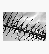 tv antenna Photographic Print