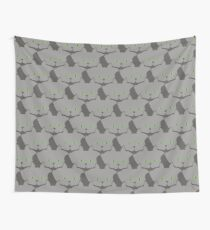 Grey #02 Cat Cattern [Cat Pattern] Wall Tapestry