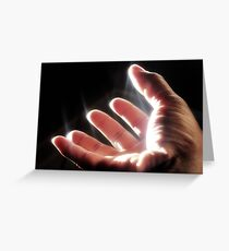 FIAT LUX! Greeting Card