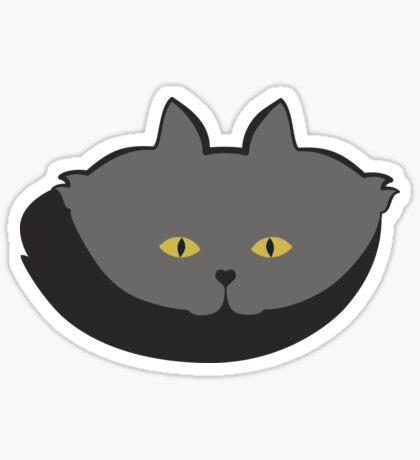 Grey #03 Cat Cattern [Cat Pattern] Sticker
