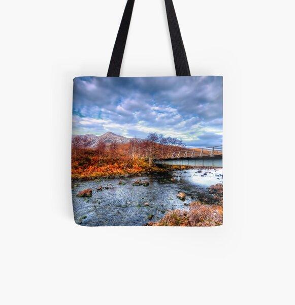 Glen Torridon All Over Print Tote Bag