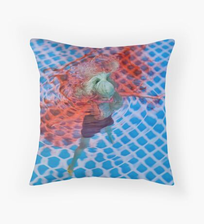 "Bad Bambi Series, #29 ""Sweet Waters""  Throw Pillow"