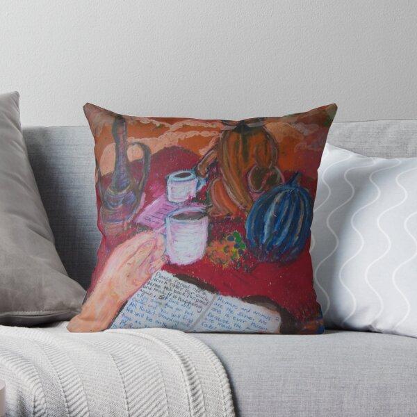 A Strange But Very Wonderful World Throw Pillow