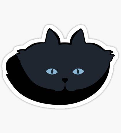 Grey #06 Cat Cattern [Cat Pattern] Sticker