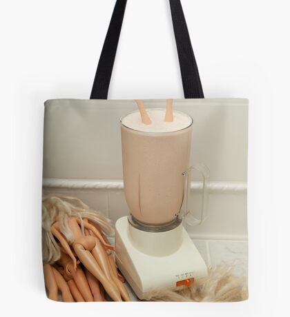 """Bad Bambi Series, #26 """"Take One Down, and Pass It Around"""" Tote Bag"""