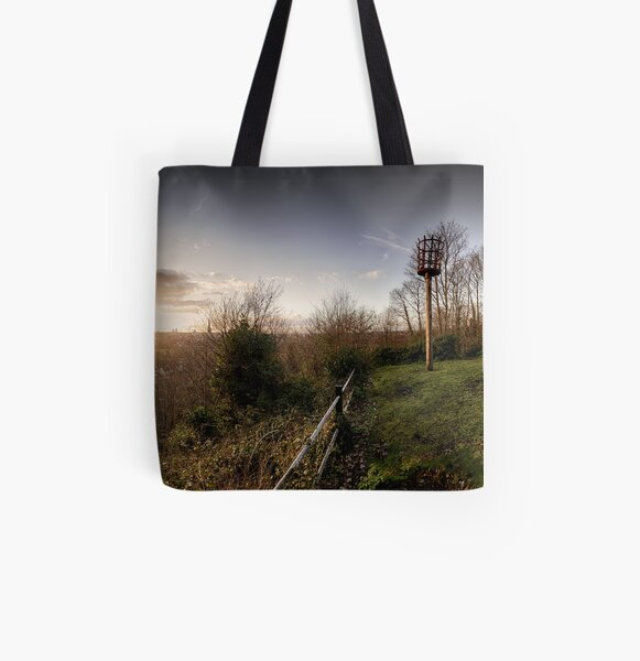 Ketts Heights, Norwich All Over Print Tote Bag