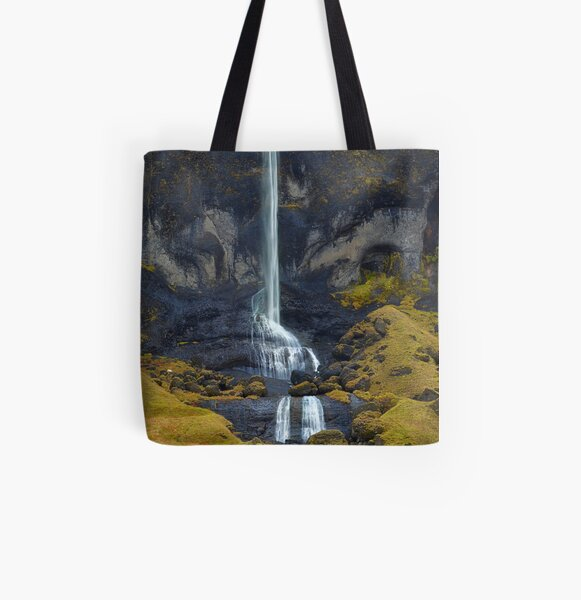 Delicate Falls All Over Print Tote Bag