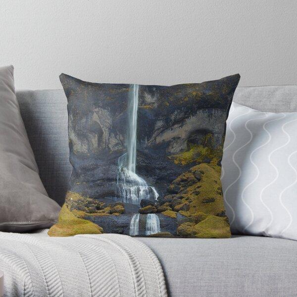 Delicate Falls Throw Pillow