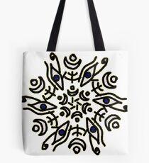 Eye of Horus symmetry Tote Bag