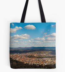 Tübingen Panorama 2 Tote Bag