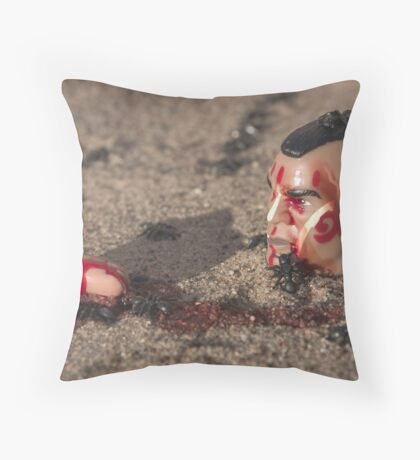 "Bad Bambi Series, #13 ""Feeling Antsy?"" Throw Pillow"