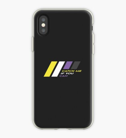 Pride Stripe: Catch Me If You Can iPhone Case