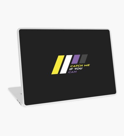 Pride Stripe: Catch Me If You Can Laptop Skin