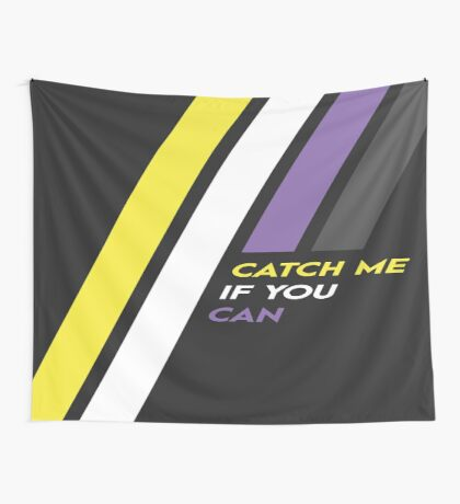 Pride Stripe: Catch Me If You Can Wall Tapestry