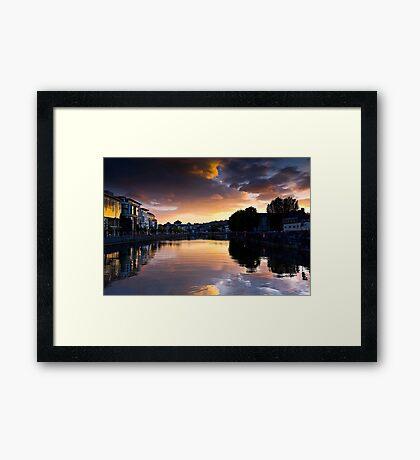 UpRiver Framed Print