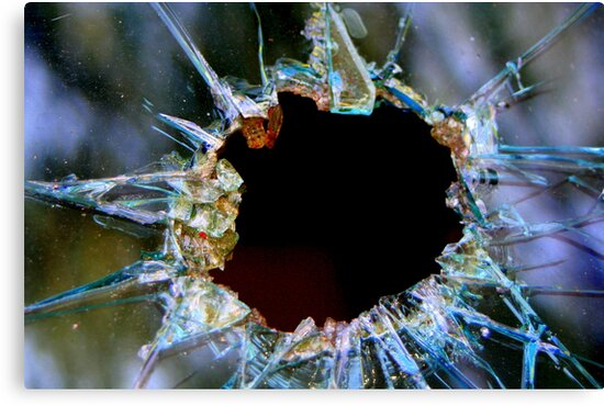 Bullet Hole by RebeccaBlackman