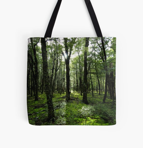In the Heart of the Forest All Over Print Tote Bag