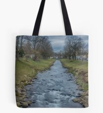 River Steinlach, Tübingen Tote Bag