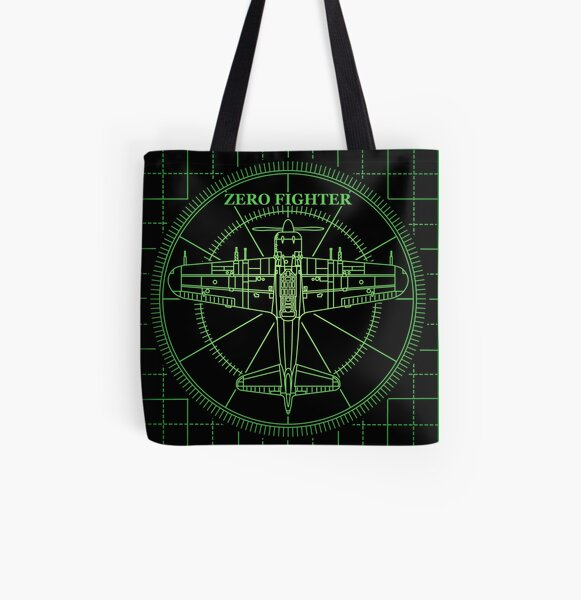 ZEROFIGHTER RADER All Over Print Tote Bag