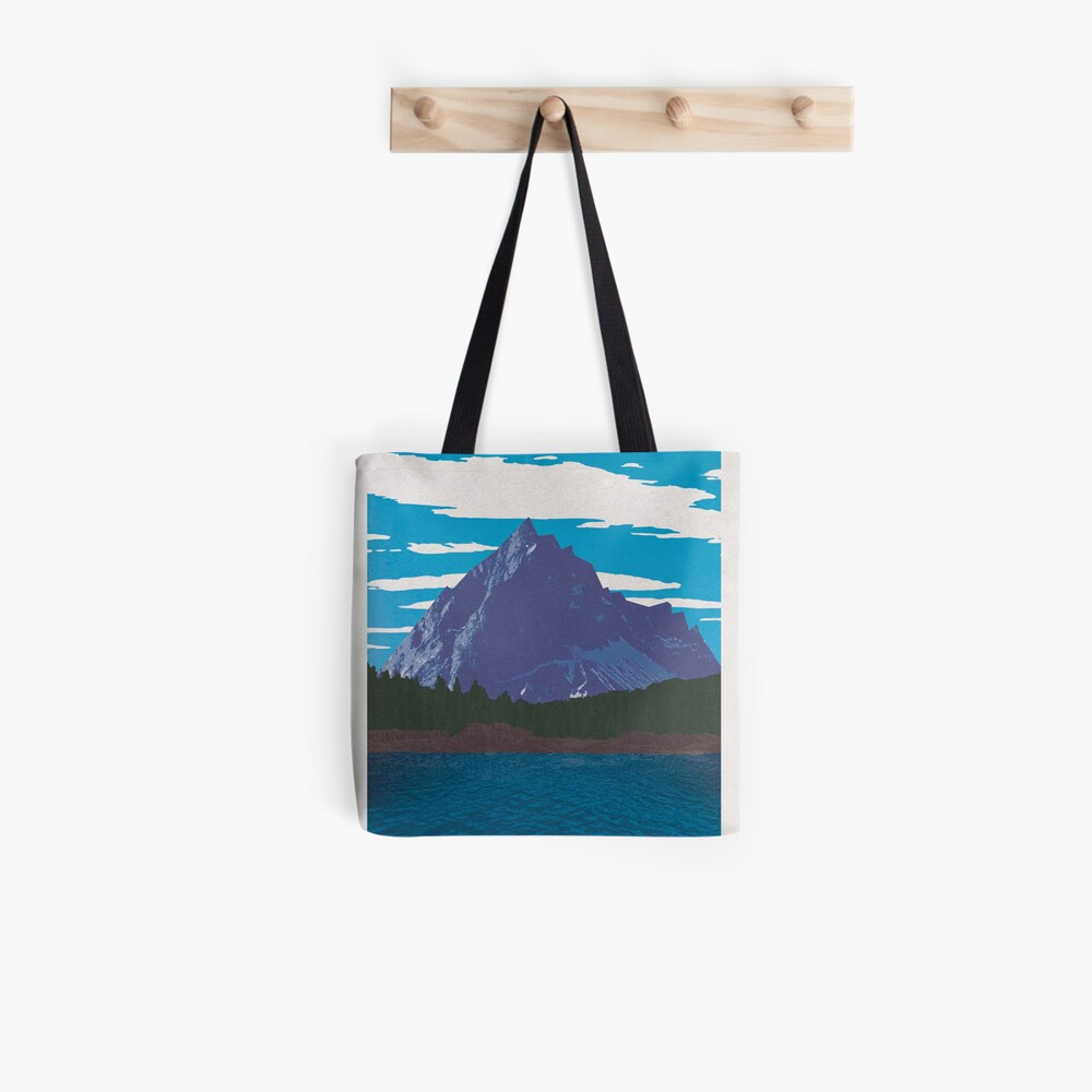 Earth Travel Poster Tote Bag