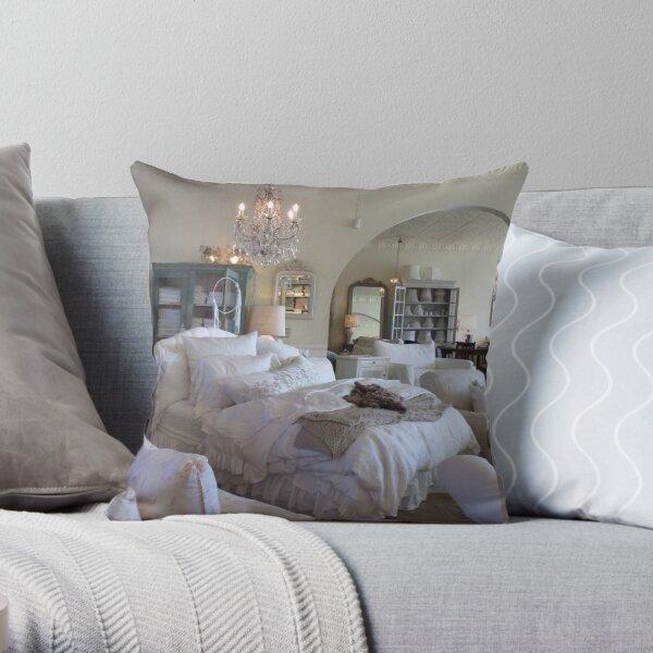 Shabby Chic Bedding  Throw Pillow