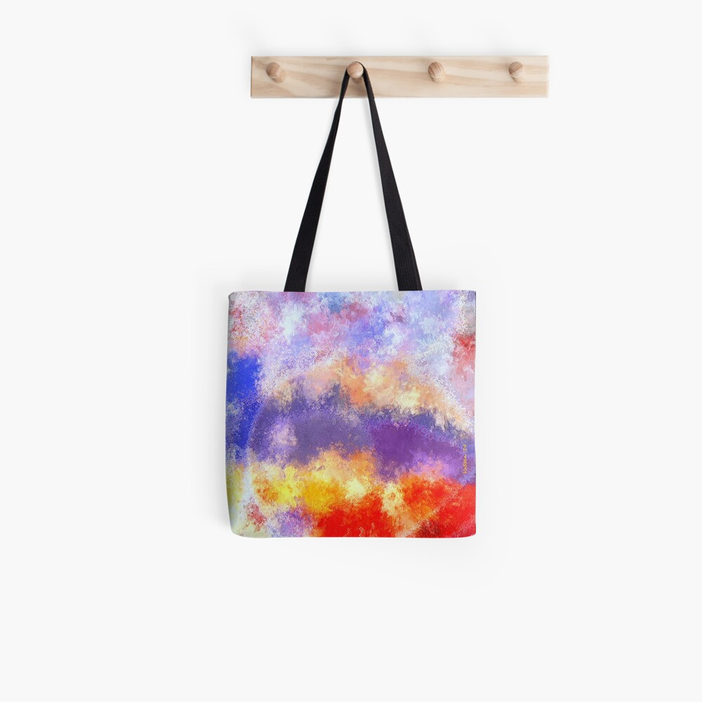 Desire: the skies are burning Tote Bag